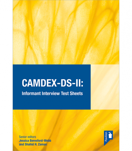Cover of the book - CAMDEX DS II - Informant Interview Test Sheets